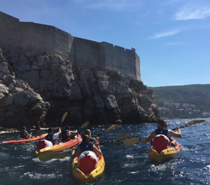 Regular kayaking tour